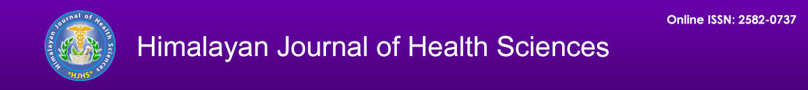 Himalayan Journal of Health Sciences